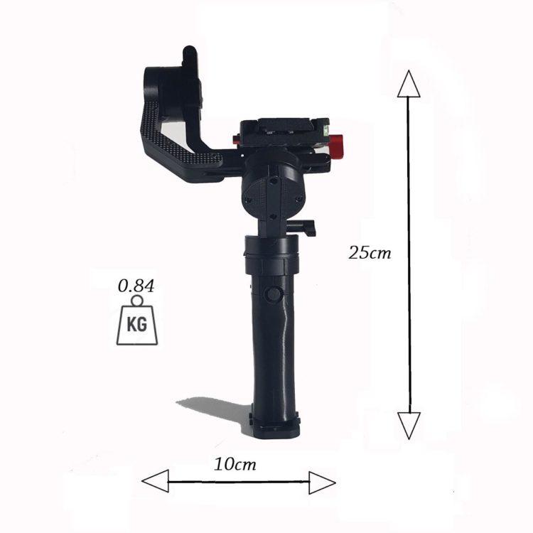 icecam gimbal tiny 3 vision dimensioni e peso