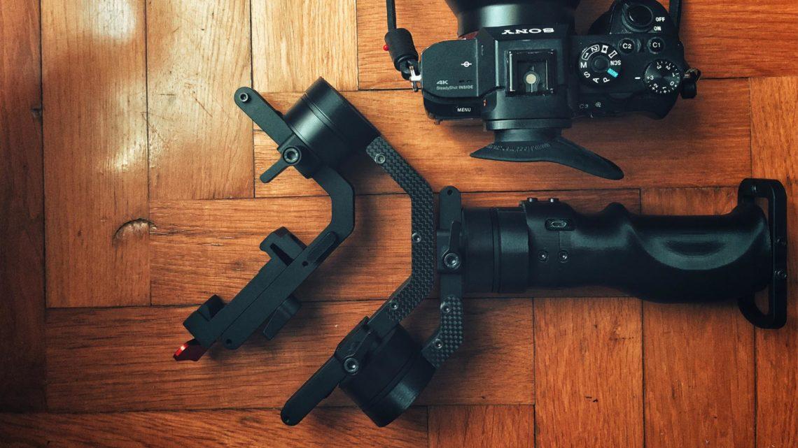 icecam gimbal tiny 3 vision foto legno
