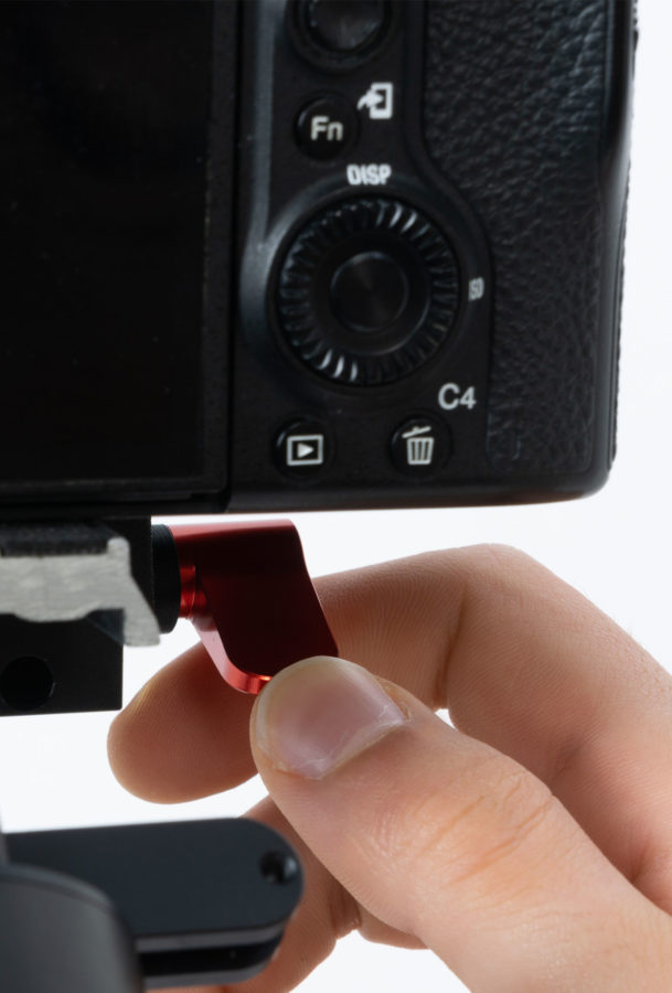 icecam gimbal tiny 3 ultravision bilanciamento meccanico asse pitch